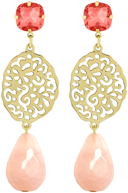 Gouden JEWELLERY BY SOPHIE Oorbellen PRETTY EARRINGS - large