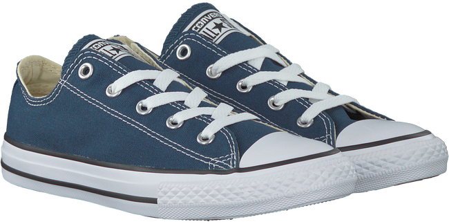 Blauwe CONVERSE Sneakers CHUCK TAYLOR ALL STAR OX KIDS  - large