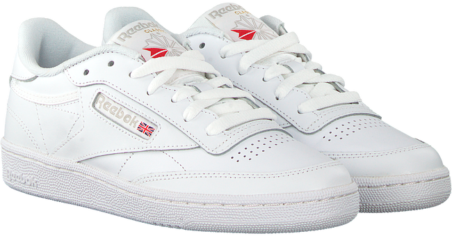 Witte REEBOK Sneakers CLUB C 85 WMN  - large
