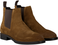 Cognac SCOTCH & SODA Chelsea boots PICARO  - medium