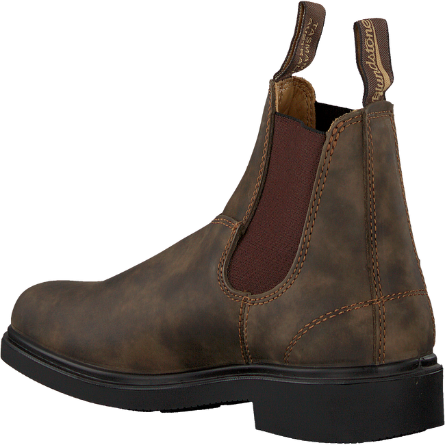 Bruine BLUNDSTONE Chelsea boots DRESS BOOT DAMES  - large