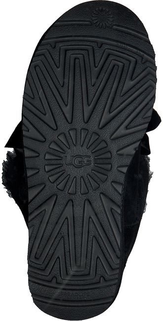 Zwarte UGG Vachtlaarzen GITA BOW MINI - large