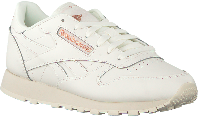Witte REEBOK Sneakers CL LTHR WMN  - large