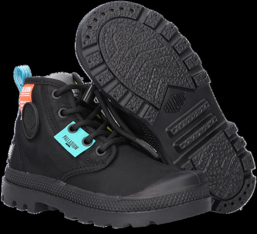 Zwarte PALLADIUM Hoge sneaker OVERLAB NEON PAMPA K  - larger
