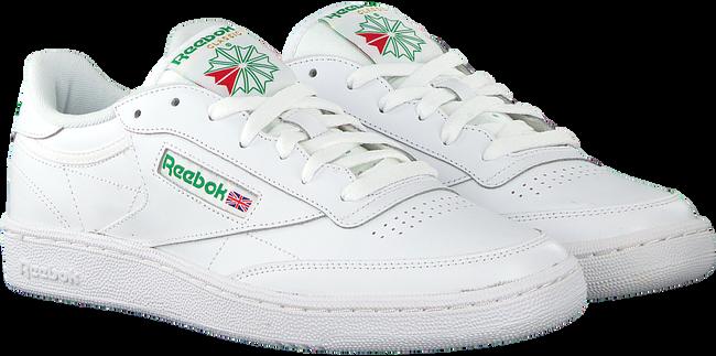 Witte REEBOK Sneakers CLUB C 85 MEN  - large