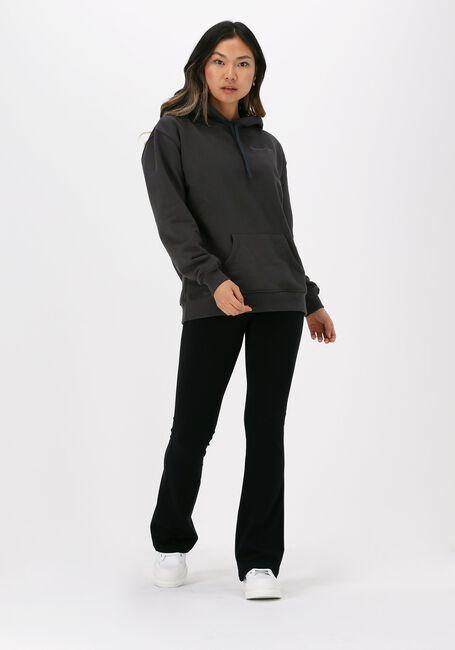 Zwarte COLOURFUL REBEL Flared broek BASIC FLARE PANTS - large