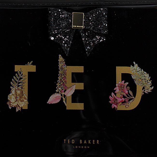 Zwarte TED BAKER Toilettas KEELEY  - large