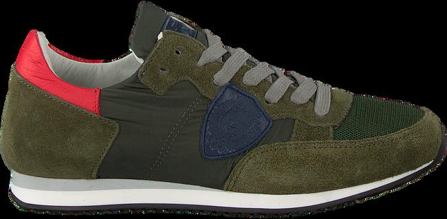 Groene PHILIPPE MODEL Sneakers TROPEZ L JUNIOR  - large