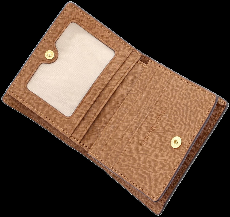 7206a7132c8 Cognac MICHAEL KORS Portemonnee CARRYALL CARD CASE - Omoda.nl
