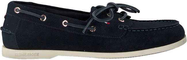 Blauwe TOMMY HILFIGER Instappers CLASSIC BOAT SHOE WMNS  - large