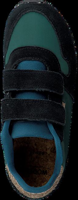 Groene WODEN Sneakers AXEL SUEDE - large