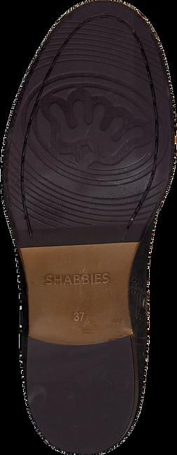 Bruine SHABBIES Enkellaarsjes 182020095 - large