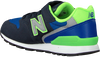 Blauwe NEW BALANCE Sneakers YV996 M  - small