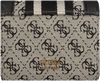Beige GUESS Portemonnee VINTAGE SLG   - small