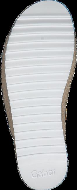 Zilveren GABOR Slippers 729 - large