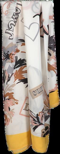 Gele LIU JO Sjaal FLOWER FOULARD  - large