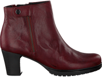 Rode GABOR Enkellaarsjes 593 - medium