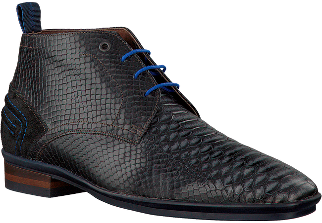 Zwarte FLORIS VAN BOMMEL Nette schoenen 10960  - large
