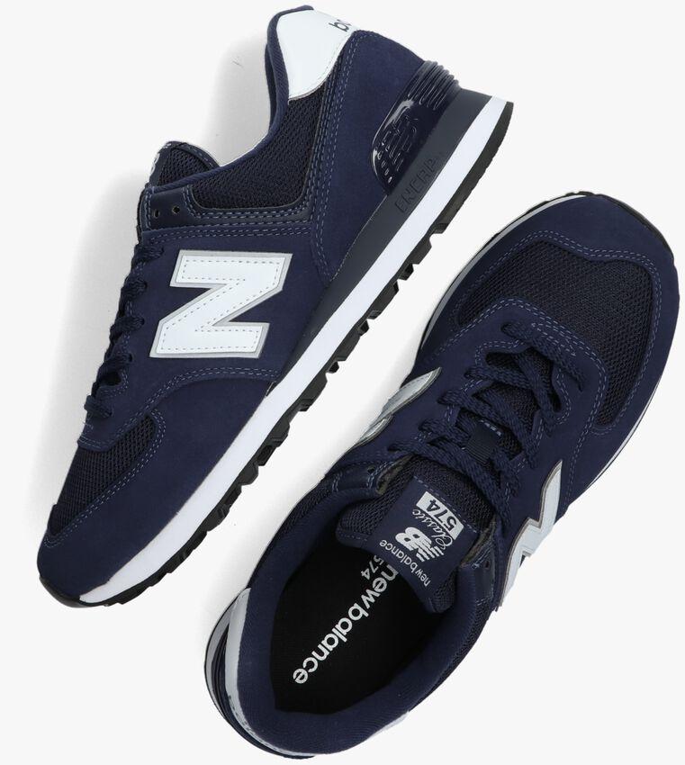Blauwe NEW BALANCE Lage sneakers ML574  - larger