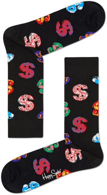 HAPPY SOCKS Sokken ANDY WARHOL DOLLAR - large