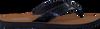 Blauwe TOMMY HILFIGER Slippers GLITTER BEACH SANDAL - small