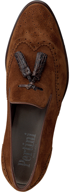 Cognac PERTINI Loafers 192W11975D7  - large