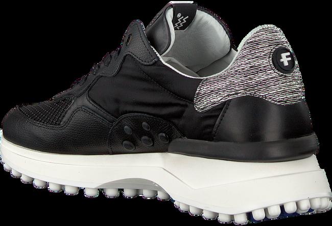 Zwarte FLORIS VAN BOMMEL Lage sneakers 16301  - large