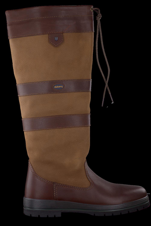 Bruine DUBARRY Lange laarzen GALWAY | Omoda