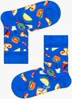 Blauwe HAPPY SOCKS Sokken KIDS JUNK FOOD  - medium