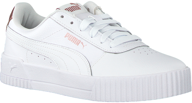 Witte PUMA Lage sneakers CARINA - large