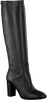 Zwarte FRED DE LA BRETONIERE Lange laarzen 193010024 - small