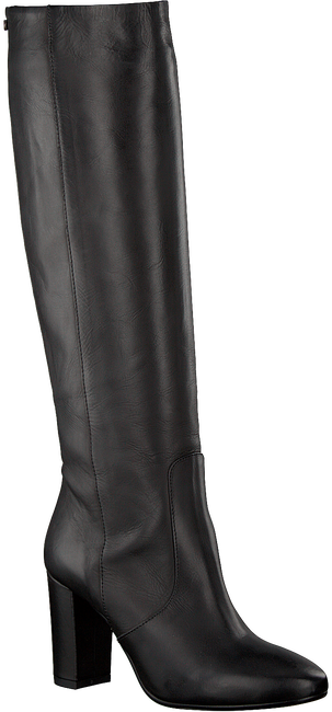 Zwarte FRED DE LA BRETONIERE Lange laarzen 193010024 - large