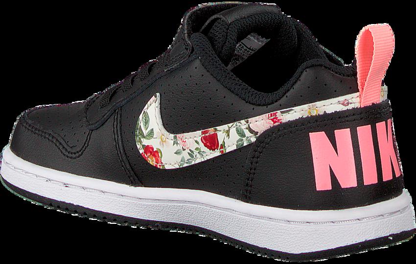 Zwarte NIKE Sneakers COURT BOROUGH LOW (GS)  - larger