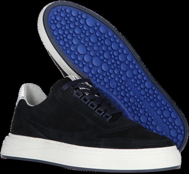 Blauwe FLORIS VAN BOMMEL Lage sneakers 16323  - large