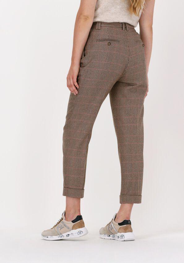 Camel VANILIA Pantalon CHECK RELAXE  - larger