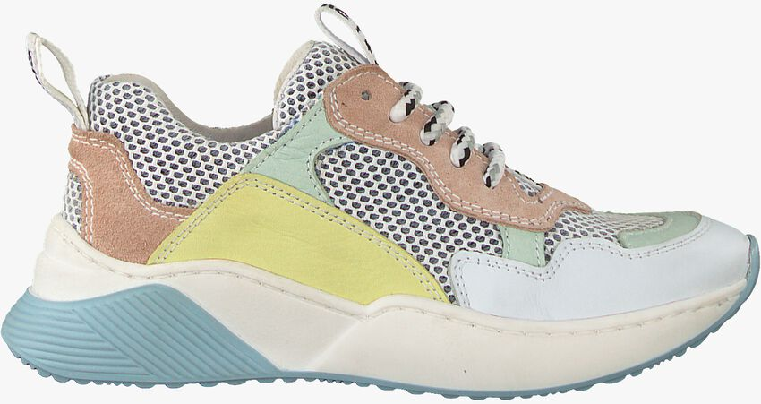 Witte CLIC! Sneakers 9740 - larger