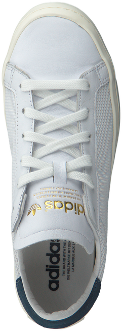 Witte ADIDAS Sneakers COURT VANTAGE DAMES  - large