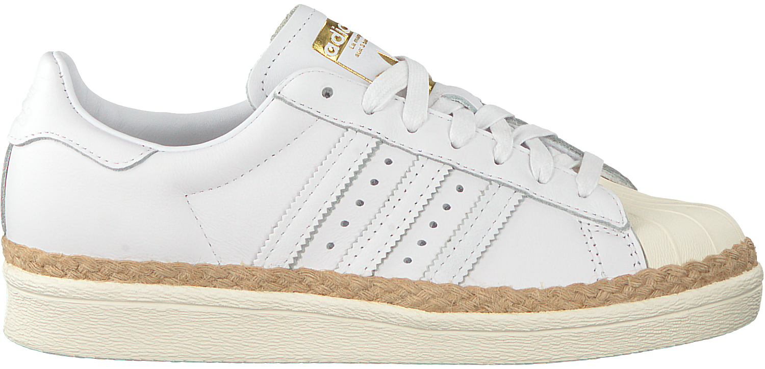 63cd39c5b69 Witte ADIDAS Sneakers SUPERSTAR 80S DAMES - Omoda.nl