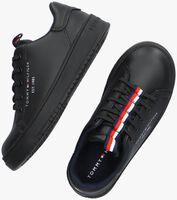 Zwarte TOMMY HILFIGER Lage sneakers 32052  - medium