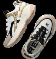 Witte REPLAY Lage sneakers FLY - medium