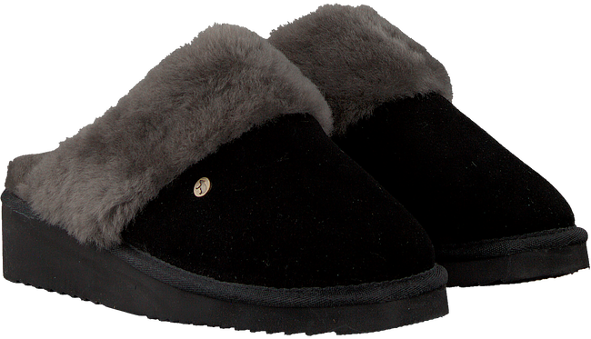 Zwarte WARMBAT Pantoffels ALICE  - large