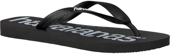 Zwarte HAVAIANAS Teenslippers HAV.TOP LOGOMANIA  - large