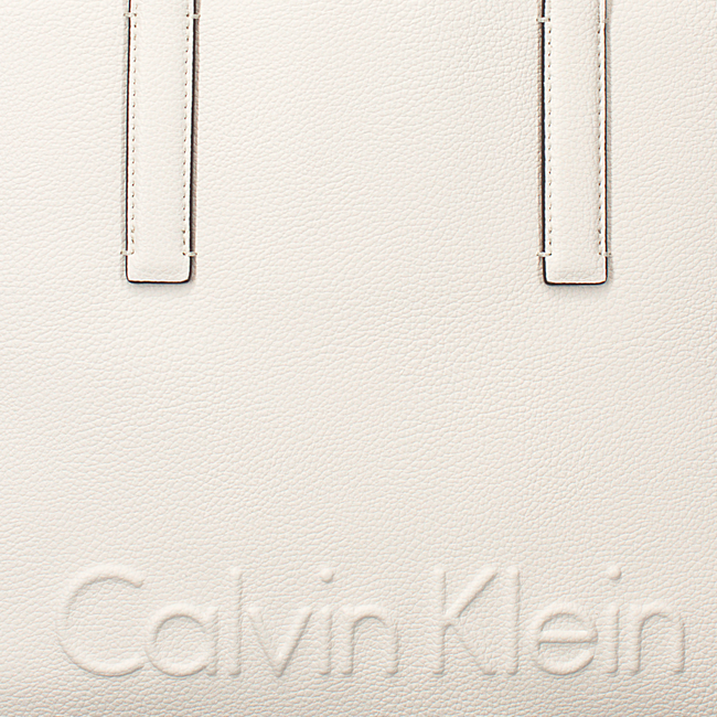 Witte CALVIN KLEIN Shopper EDGE MEDIUM SHOPPER - large
