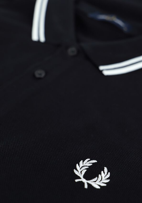 Zwarte FRED PERRY Polo TWIN TIPPED PRED PERRY SHIRT  - larger