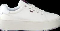 Witte TOMMY HILFIGER Lage sneakers TOMMY JEANS FLATFORM  - medium