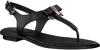Zwarte MICHAEL KORS Sandalen ALICE THONG  - small
