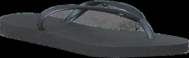 Zwarte HAVAIANAS Slippers SLIM CRYSTAL GLAMOUR  - large