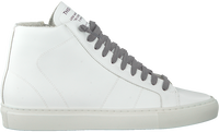 Witte P448 Hoge sneaker STAR WOMAN  - medium