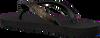 Zwarte UZURII Slippers PYTHON - small