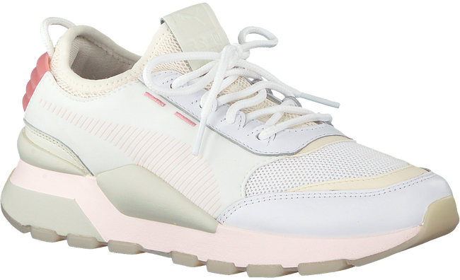 Witte PUMA Sneakers RS-0 TRACKS  - large